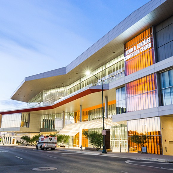 Kovach provided all exterior glazing and metal panels for the Henry B. Gonzalez Convention Center project, located in San Antonio, TX.