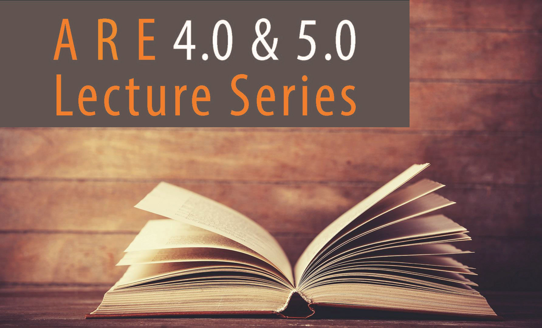 ARE Lecture Series Header