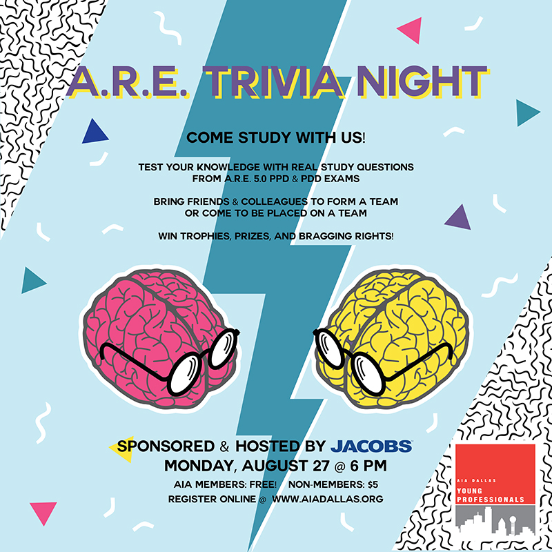 Trivia Night by Tess Haverstick, Assoc. AIA