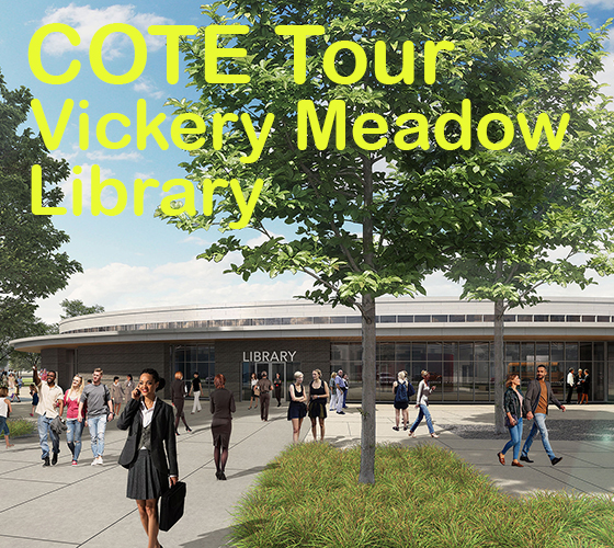 COTE Tour of Vickery Meadow Library