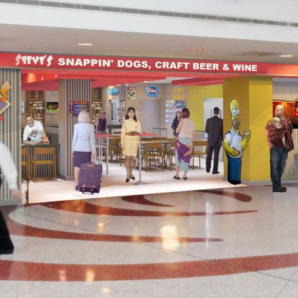 Steve's Snappin' Dogs - Restaurant - Denver International Airport Opening Spring 2014