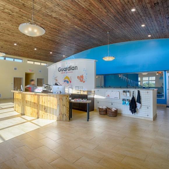 GUARDIAN SWIM SCHOOL NATATORIUM Lounge Natatorium, Las Colinas, TX, Architect of Record, 8,000SF, Cons Cost $2,000,000