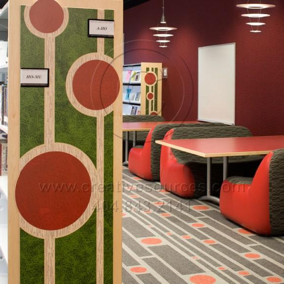 Tucker Reid H. Cofer Library, DeKalb County, GA  Teen Area