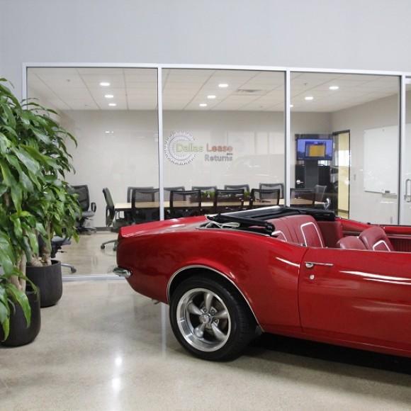 DALLAS LEASE RETURNS CAR DEALERSHIP Interior Addison, Texas Architect of Record and Interior Design 80,000 SF: cost $2,000,000