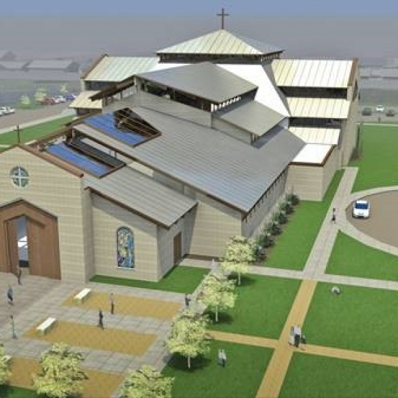 Conceptual Design For Catholic Parish      DFW, TX