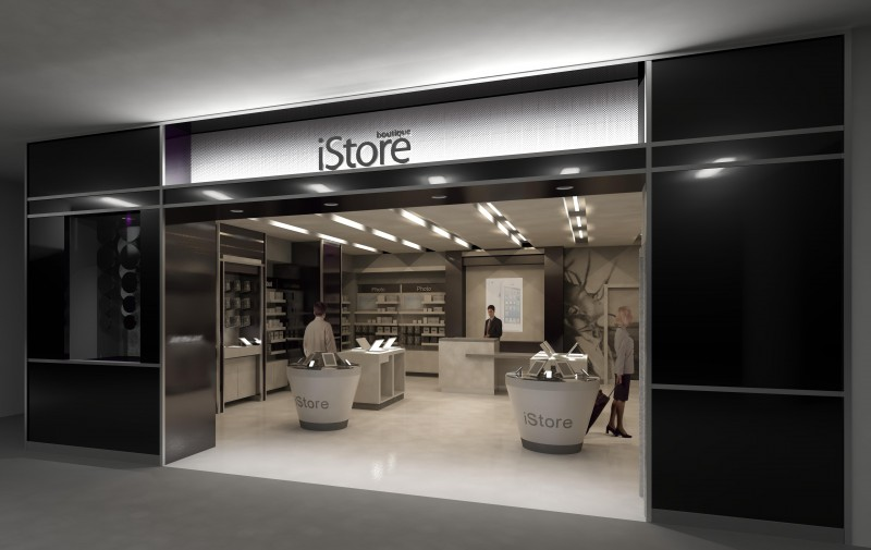 iStore - Retail - George Bush Intercontinental Airport -