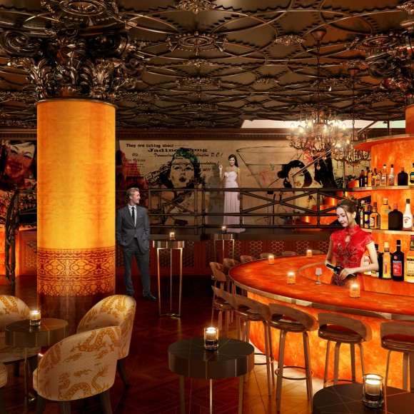 Dua Branded Lounge in San Francisco