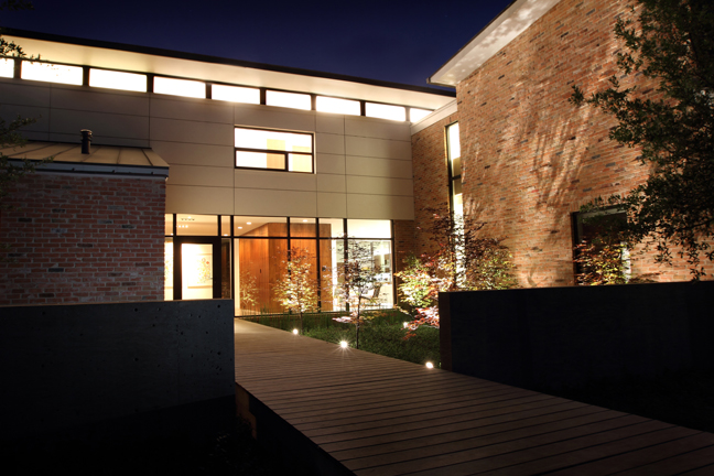 "The ""Before House"" successfully delivers the client's taste for modernism while fitting into a Dallas Conservation Disctrict.  Adundant natural light, SIPs roof panels, spray-in foam insulation, and concrete floors create an inviting, energy efficient and east to maintain residence. Matt Callahan Photography"