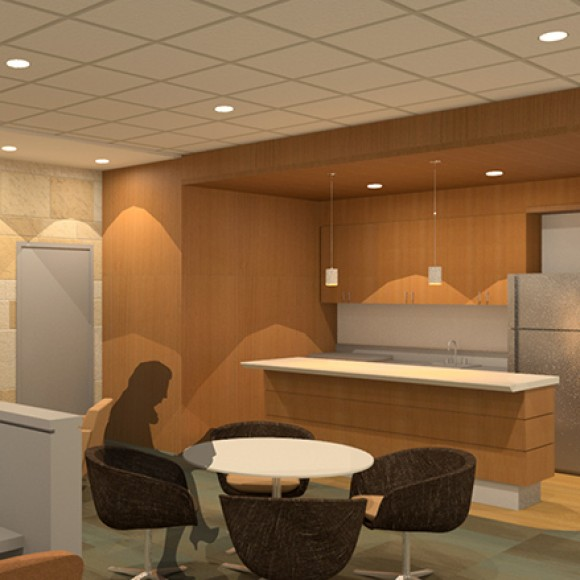 REX Healthcare North Carolina Heart and Vascular Hospital in Raleigh, North Carolina Rendering by WHR Architects