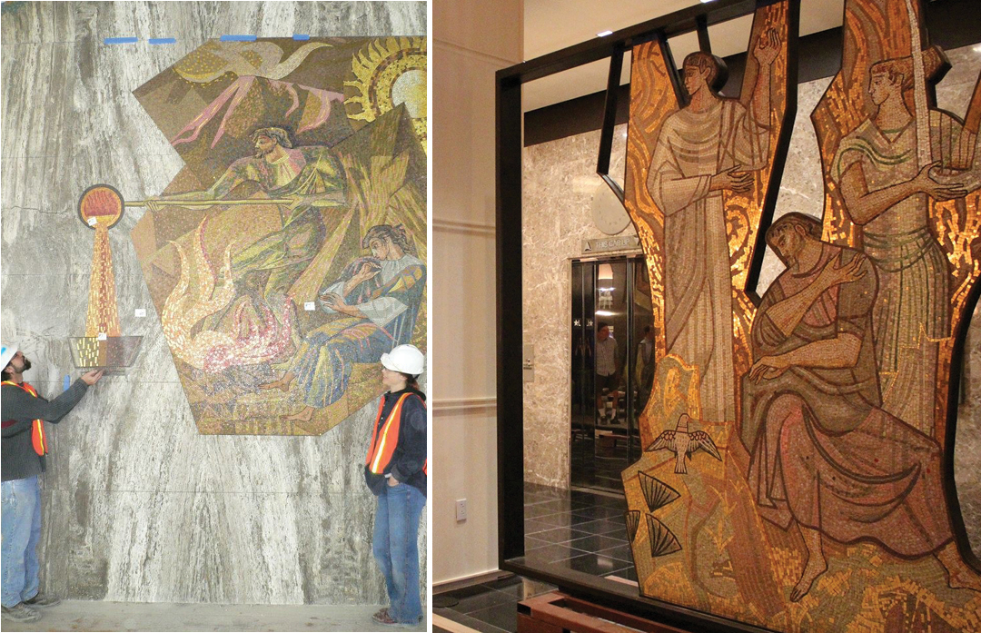 Art advocates save Mercantile treasures from bulldozer