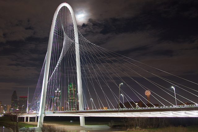 Margaret Hunt Hill Bridge by Gus Rios