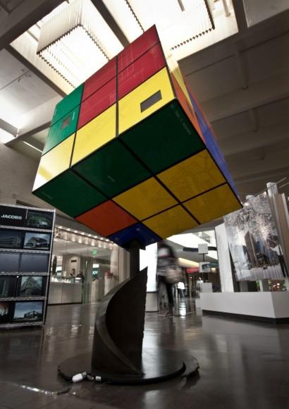 "Callison's ""Rubik's Cube"" Installation from 2011"