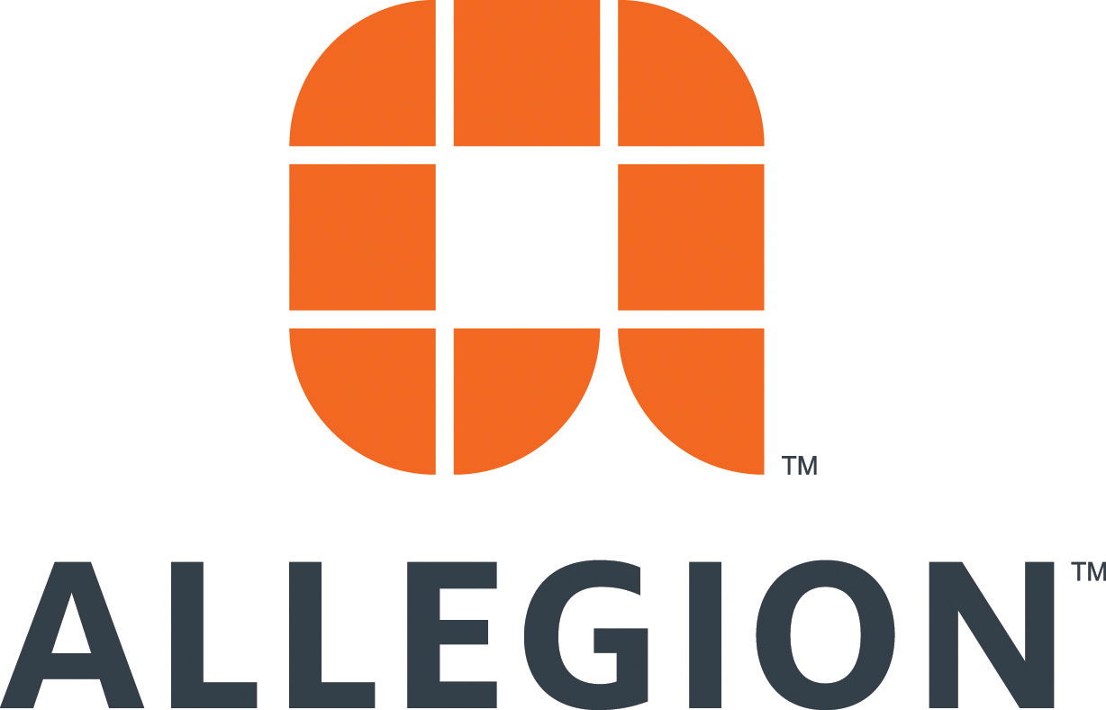 Holiday Party: Allegion logo
