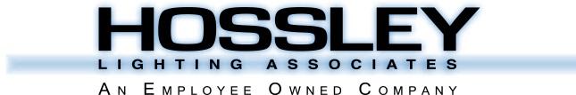 Exhibitions - Hossley Lighting logo