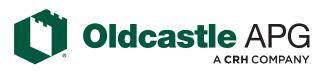24th Golf - OldCastle logo