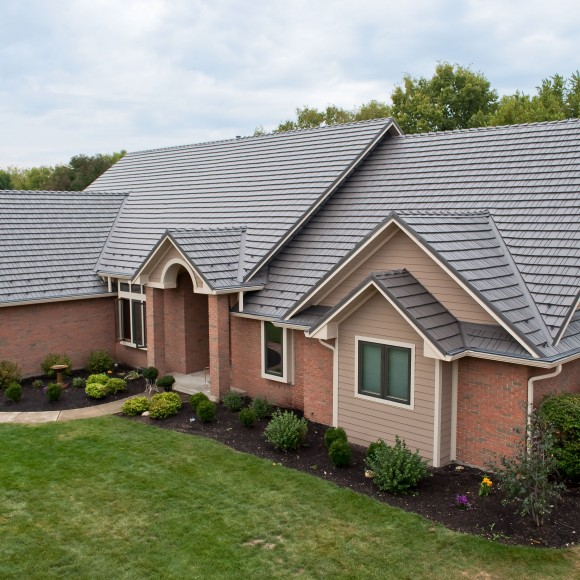 Great American Shake utilizes only first-run, American made aluminum. These complete roofing systems have been adorning and protecting homes since the early 1970's. As an Energy Star Partner roofing product, homeowners may qualify for federal, state and local rebates.