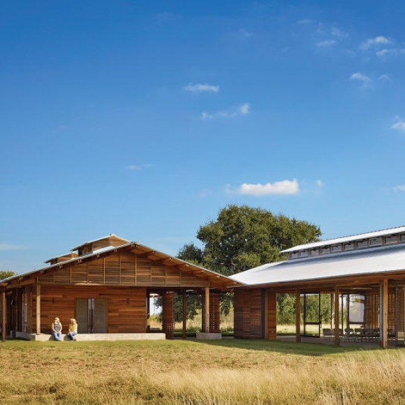 Josey Pavilion in Decatuar, TX was designed to be the first building in Texas to achieve the Living Building Challenge, meaning it has very minimal negative impact on the environment.  TLC provided MEP/ FP and energy modeling, including this computational fluid dynamic model that illustrates air flow through the naturally ventilated building.