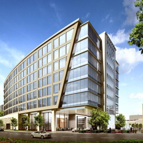 8111 Westchester Office Tower - Dallas, TX.  Structural Engineering.