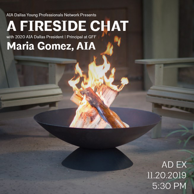 Fireside Chat with Maria Gomez, AIA