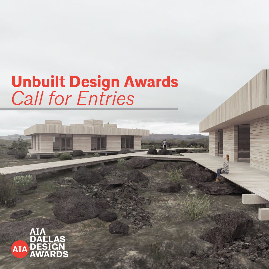 Unbuilt Design Awards Call for Submissions Opens