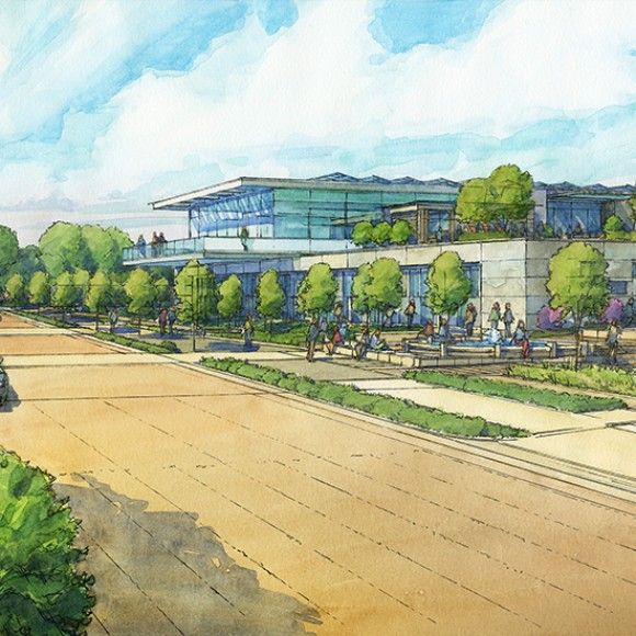 Farmers Branch Library Concept  |  Farmers Branch, TX