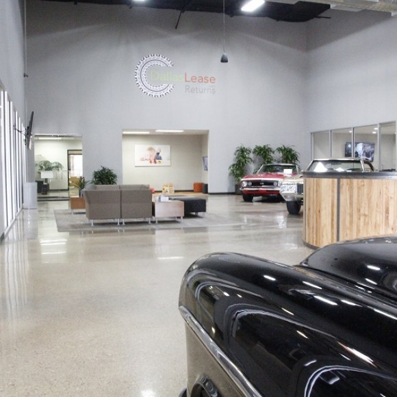 DALLAS LEASE RETURNS CAR DEALERSHIP Interior Auto Dealership Addison, Texas Architect of Record and Interior Design 80,000 SF: cost $2,000,000