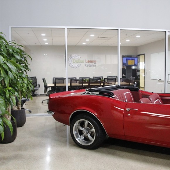 DALLAS LEASE RETURNS CAR DEALERSHIP Interior Addison, Texas Architect of Record and Interior Design 80,000 SF: cost $2,000,000