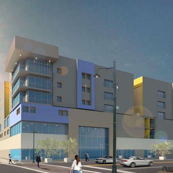 CADIZ MULTI-USE Exterior Mixed Use, Dallas, Texas Conceptual Design 242,260 SF: budget $30,000,000