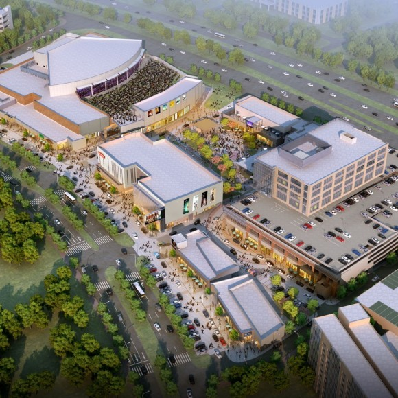 Music Factory in Irving is a unique entertainment district bringing together people from every walk of life, not just to enjoy, but to also create music, harmonizing together in this musical melting pot. The artist-friendly 16-acre district with a recording studio, also includes a variety of bars and musical venues, each with a distinctly-themed musical component allow everyone, from rap to country fans, to mingle together among the indoor and outdoor spaces. Gensler