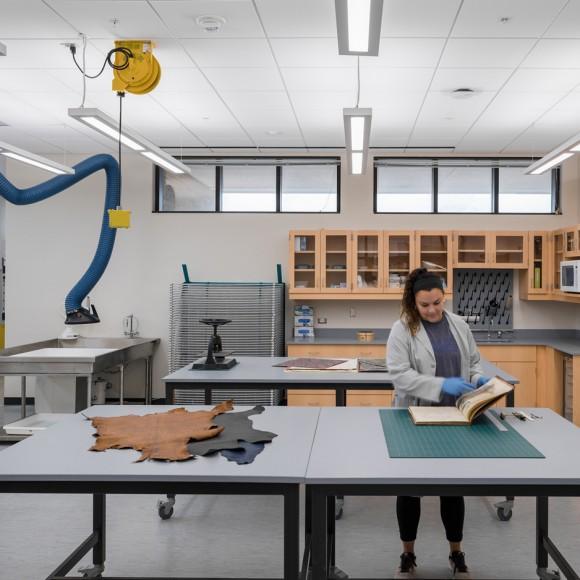 Texas A&M University Evans Library Maker Space | College Station, TX Parrish Ruiz De Velasco