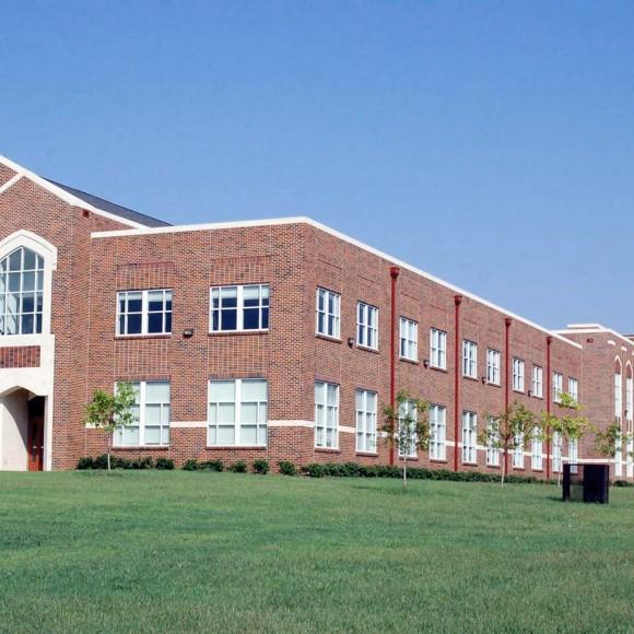 John L. Long Middle School - Dallas ISD Photograph by Michael Lyon