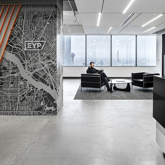 EYP | Dallas Office One of America's fastest-growing cities, Dallas is booming, and we're excited to be a fresh face in the design and engineering community. EYP Inc.
