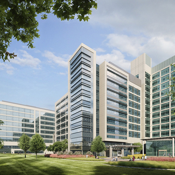 UT Southwestern Medical Center | Outpatient Cancer Care Tower and Brain Institute Research Tower EYP Inc.