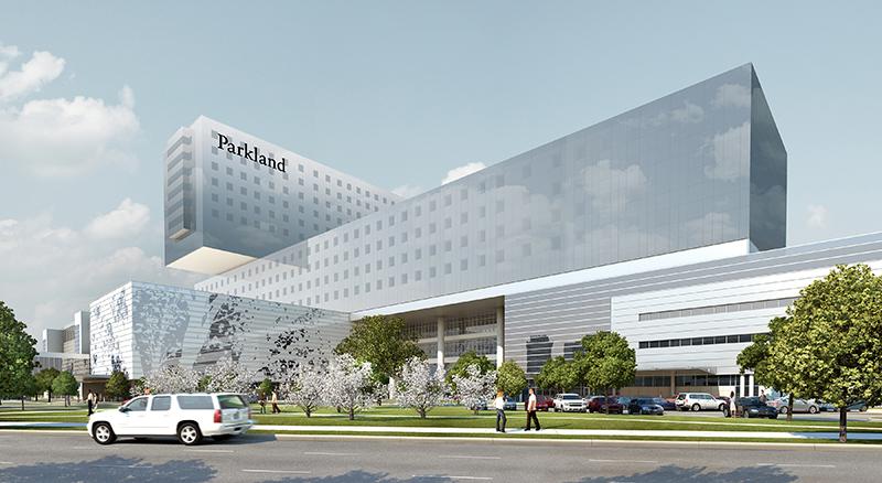 The New Parkland Hospital, Dallas, Texas