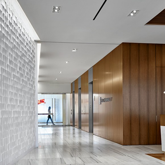 After experiencing tremendous growth, Bell Nunnally relocated to the Dallas Arts District. More than just a new address, the new office gives attorneys and staff entirely new ways of working in a more sophisticated and forward-thinking setting. Dror Baldinger