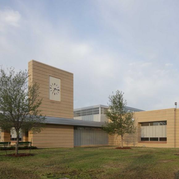 Nancy Moseley Elementary School - Dallas ISD Photograph by Michael Lyon