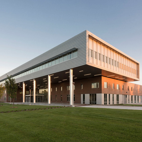 Wichita State University Experiential Engineering Building Honor Award, AIA Wichita Design Awards 2017