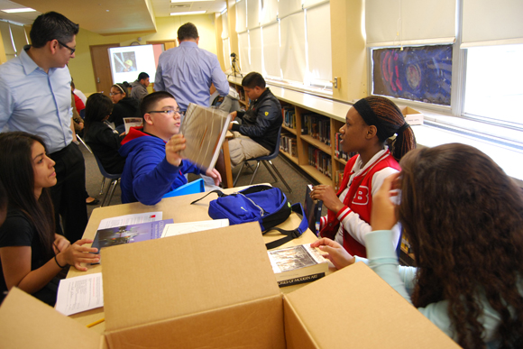 Architectural books provided to students from LiA